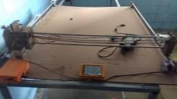 Maquina de corte a leizer com controlador