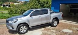 Toyota Hilux SRV 2018 Baixa km 100% Ok