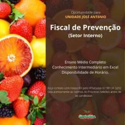 Título do anúncio: Fiscal de prevenção