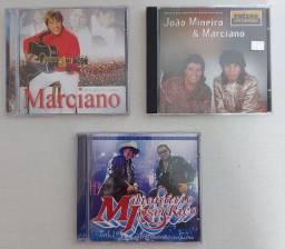 4cds: 1 João Mineiro & Marciano + 1 Marciano + 1 Milionário & Zé Rico + 1 Sandro & Gustavo