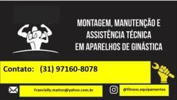 Assistência técnica Equipamentos de Ginástica  *