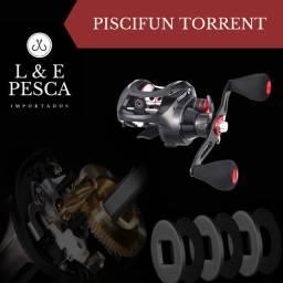 Carretilha de Pesca Pisicfun Torrent 6 Rol 7.1:1 8.1 kg Drag ? Lado Direito