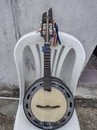 Banjo novo de luthier jacaranda maciço mod.luxo