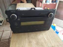Rádio original Corolla 2009 a 2013