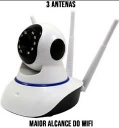 Título do anúncio: Camera ip 3 Antenas Atacado e Varejo Visao Noturna Sensor de Movimento