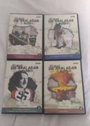 Coleção Box Dvd Os Dias Que Abalaram O Mundo I e II - 24 Vol