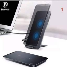 Carregador Celular Qi Wireless Iphone 8 X Samsung Galaxy S8 S10