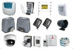 câmeras interfones e portões eletrônicos