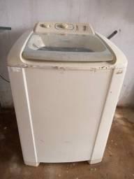 Máquina de lavar e fogão