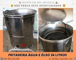 Fritadeira água e óleo completa - MetVisa | Matheus
