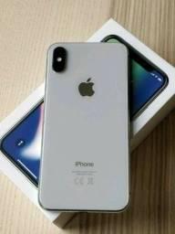 !!Super Promoção - Iphone X 64GB De vitrine com 1 ano de garantia + Brindes!!