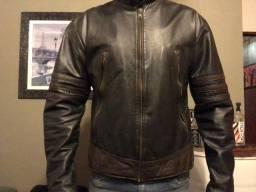 Jaqueta de Couro Legítimo modelo Wolverine .