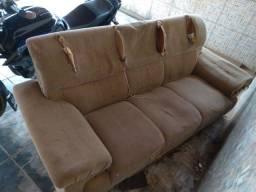 Título do anúncio: Jogo de sofá usado para quem quer reformar