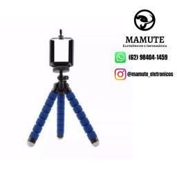 Tripé Flexível Universal Suporte Celular Câmera