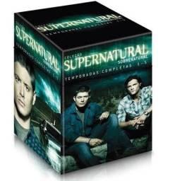 Box Supernatura(5 Temporadas) + Box Trilogia Matrix