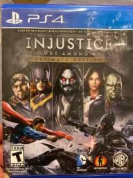 Injustice PS4 em ótimo estado