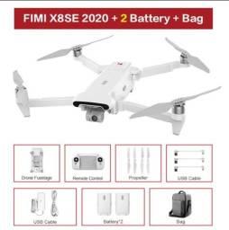 DRONE FIMI X8 2020 COM 02 BATERIAS ORIGINAIS