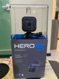 GO PRO HERO 5 SESSION NA CAIXA ORIGINAL