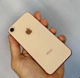 IPHONE 8 64GB ACEITO TROCAS ,ACEITO CARTÃO