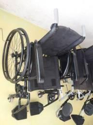 Cadeiras de rodas em aluminio