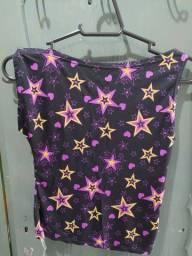 Título do anúncio: Blusinha estrelada