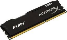 Memória RAM 8gb ddr4, hyperx original