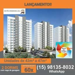 Apartamentos de 2 dormitórios Próximo ao Parque das Águas #ro10