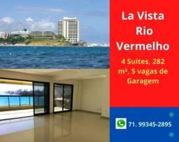 Oportunidade:  La Vista Monte Conselho,4 suítes, 282 m², Alto Padrão no Rio Vermelho