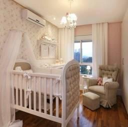 Quarto de bebê Provençal completo Cia do móvel