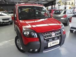 Fiat Doblo Adventure 2014 Vermelha Completo 6 lugares