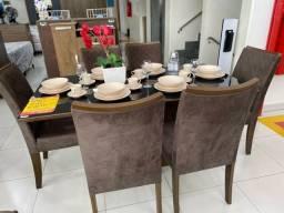 Promoção Mesa de Jantar com 6 Cadeiras Mostruário de 3.399 por 2.500