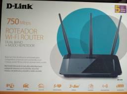 Roteador D-link 750 e Apple TV terceira geração