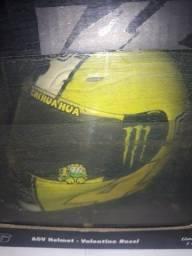 Capacete AGV réplica Valentino Rossi