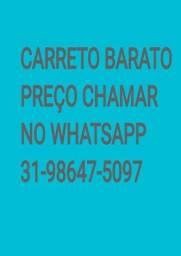 CARRETO BARATO, PREÇO CHAMAR NO WHATSAPP
