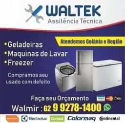 Conserto máquina e geladeira