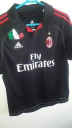 Camisa Raríssima do Milan Adidas Original