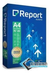 Papel A4 - 500 Folhas - Report - Loja Coimbra Computadores - Sulfite