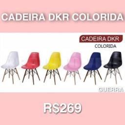 Título do anúncio: CADEIRA DKR COLORIDA / CADEIRA DKR COLORIDA