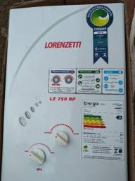 Aquecedor A Gas Lorenzetti Lz 750bp Gn