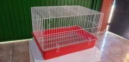 Gaiola para roedores (porquinho da Índia, hamster, chinchila e etc) - semi-nova