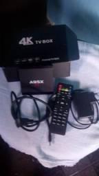 Vendo novo tv box