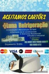 Serviços em split com garantia zap 988886050