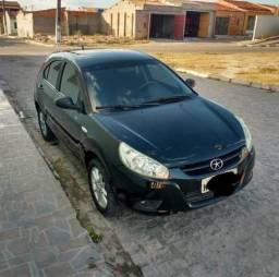 Vendo ou troco JAC J3 carro muito confortável top - 2012