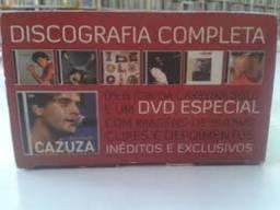 Cazuza Caixa Discografia Completa 6 Cds 1 Dvd Box Original