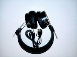 Fone de ouvido B-15 Wireless, Bluethoot, Sd, Rádio. Áudio impressionante!