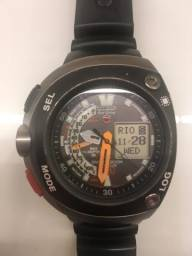 64f31c65207 Relógio aqualand meia lua eco citizen