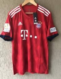 Camisa Bayern de Munique Original Nova - Aceito Cartão b139d83bf1f41