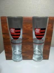 29a371209c Kit 12 Tulipas De Chopp 300ml Oficial Flamengo Allmix Novas