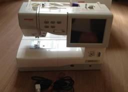 Máquina De Bordar Eletrônica - Janome Secio 11000