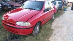 Sucata Fiat Palio 1.0 Fiasa 1998 Para Retirada de Peças